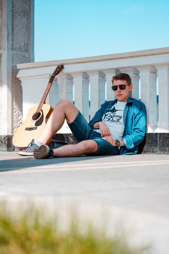 мужской портрет фотосессия москва речной вокзал