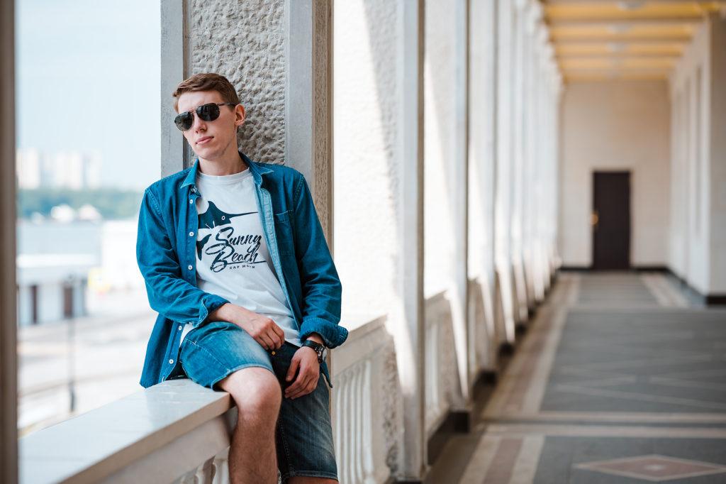 мужской художественный портрет москва фотограф