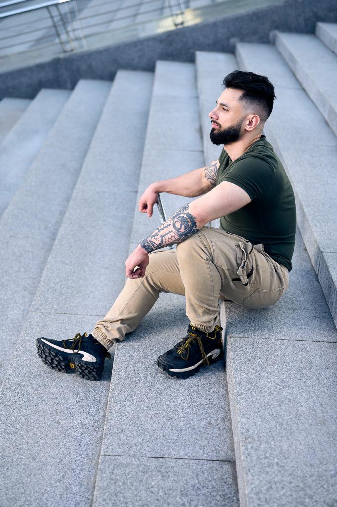 фотосессия москва мужской портрет уличная фотография